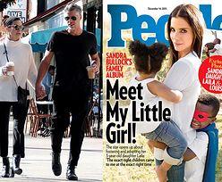 """Sandra Bullock adoptowała 3-latkę! """"Louis chciał ciemnoskóre rodzeństwo"""""""