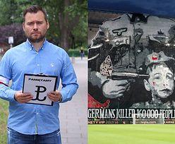 Dziennikarz sportowy chce zebrać 400 TYSIĘCY na karę dla Legii za transparent z SS-manem celującym w skroń chłopca!