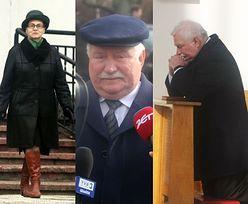 Lech Wałęsa z żoną w kościele (ZDJĘCIA)
