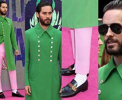 Jared Leto w różowych spodniach na różowym dywanie. Stylowy? (ZDJĘCIA)