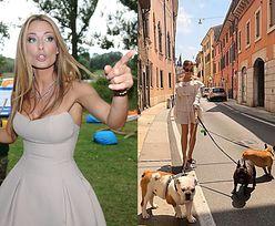"""Małgorzata Rozenek odpowiada na zarzuty, że ZNĘCA SIĘ NAD PSAMI: """"Sugerujesz, że jak jakiś debil chodzę z psami po słońcu, BO JESTEM TAKA DURNA?"""