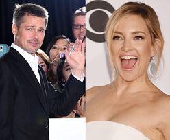 """Brad Pitt ma romans z… Kate Hudson? """"Bardzo się do siebie zbliżyli"""""""