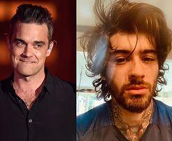 """Robbie Williams NIE POMÓGŁ Zaynowi Malikowi po odejściu z One Direction, bo """"sam był rozp****olony"""""""