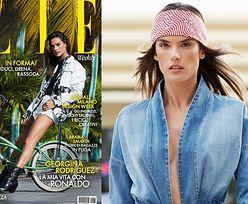 """Alessandra Ambrosio prezentuje młodzieżowe trendy w sesji dla """"Elle"""""""