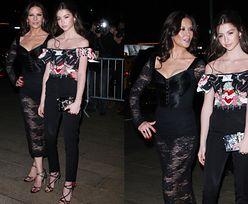 Catherine Zeta-Jones promuje 14-letnią córkę na pokazie Dolce & Gabbana
