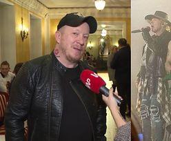 """Lubert o Slashu w koszulce Virgin: """"Zmieniałem pampersy trzy razy"""""""