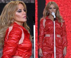 Kylie Minogue rozpłakała się podczas występu. Powróciły dramatyczne wspomnienia