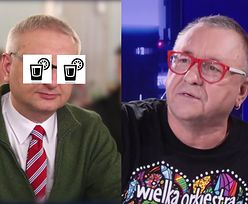 """Z którym politykiem PiS-u Owsiak napiłby się wódki? """"Poprosiłbym, żeby zdjął sweter!"""""""