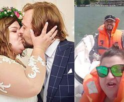 """Dominika Gwit świętuje pierwszą rocznicę ślubu. """"Szczęście, miłość, siła, rodzina"""" (FOTO)"""