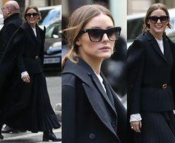 Olivia Palermo nawiedza stolicę Francji w przebraniu dementora