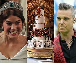 Szczegóły wesela księżniczki Eugenii: koncert Robbiego Williamsa, tort z 400 JAJEK...