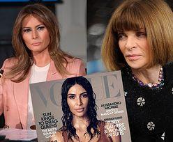"""Anna Wintour NIE CHCE Melanii Trump na okładce """"Vogue'a""""! """"Promujemy kobiety, które COŚ SOBĄ REPREZENTUJĄ"""""""
