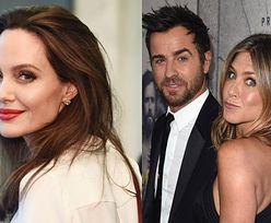 """Angelina Jolie nie jest zaskoczona rozstaniem Aniston i Theroux? """"Zawsze uważała ją ZA PŁYTKĄ!"""""""
