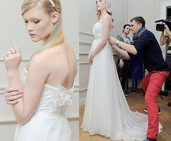 """Honorata z """"Top model"""" w sukniach ślubnych Zienia!"""