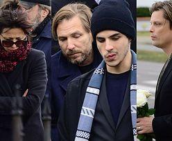 Sophie Marceau i trzej synowie Żuławskiego na pogrzebie (FOTO)