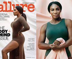 Atletyczna Serena Williams miętosi prześcieradło w nowej sesji