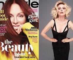 """Julianne Moore przymierza peruki dla """"InStyle'a"""""""