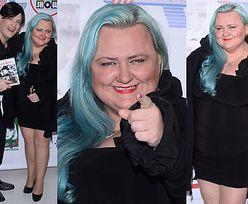 """Manuela z """"Big Brothera"""" wraca na ścianki? Z niebieskimi włosami... (ZDJĘCIA)"""