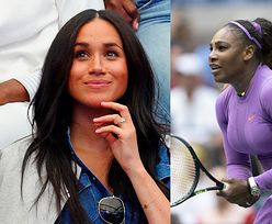 """Serena Williams o wsparciu Meghan Markle na US Open: """"Nie wiem, czy zrobiłabym to samo, mając dziecko w takim wieku"""""""