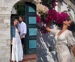 """Kinga Rusin na greckich wakacjach z ukochanym: """"Pan i Pani Papadopoulos przy drzwiach"""" (FOTO)"""