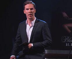 Benedict Cumberbatch czyta nową piosenkę R. Kelly'ego! SEXY?