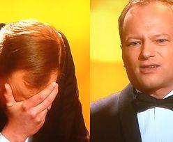 """Stuhr na rozdaniu Orłów: """"Przyszedłem, żeby ogłosić najlepszą aktorkę drugiego sortu. To nie jest ktoś, kto się w tle wałęsa!"""""""
