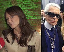 """Rusin o śmierci Lagerfelda: """"Nie znałam go na tyle, żeby mógł coś wnosić w moje życie"""""""