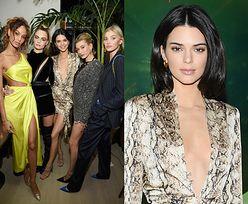 Wystrojone Jenner, Delevingne i Bieber bawią się na otwarciu hotelu