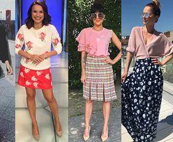 Jakie kolorowe spódnice na lato wybierają celebrytki?