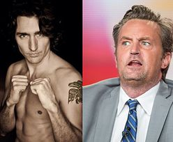 Matthew Perry w podstawówce... pobił Justina Trudeau!