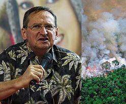 """Wojciech Cejrowski o pożarze Amazonii: """"Nie chce mi się wierzyć. Może ktoś podpalił ropę? LASY AMAZOŃSKIE SĄ NIE-PALNE"""""""
