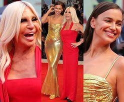 """Irina Shayk i Donatella Versace na dziewczyńskiej """"randce"""" w Wenecji"""