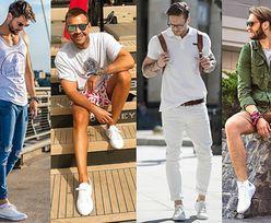 Modne białe tenisówki - z czym je noszą celebryci?