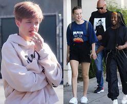 """Millie Bobby Brown prowadza się po ulicach Los Angeles z dziećmi Angeliny i Brada przed premierą """"Stranger Things"""" (FOTO)"""