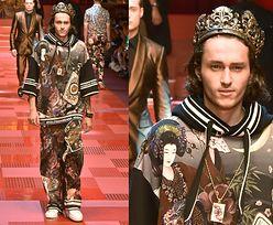 Krewni gwiazd debiutują na wybiegu Dolce&Gabbana: brat Miley Cyrus, szwagier Pippy Middleton, syn Snoop Dogga... (ZDJĘCIA)