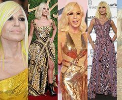 """Donatella Versace odebrała nagrodę dla """"IKONY STYLU"""". Zasłużyła? (ZDJĘCIA)"""