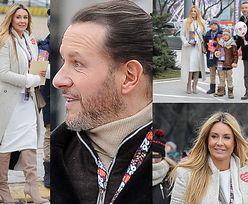Wiosenna Małgonia i Radosław w kożuchu kwestują na ulicy (ZDJĘCIA)