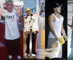 """""""Najlepszy biały raper"""", Eminem, kończy dziś... 45 LAT! (ZDJĘCIA)"""