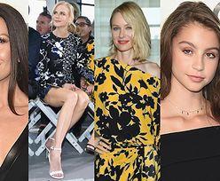 """""""Najlepsze przyjaciółki"""" bawią się pokazie mody: Nicole Kidman, Naomi Watts i Catherine Zeta-Jones z córką (ZDJĘCIA)"""