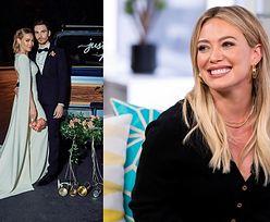 Hilary Duff pochwaliła się zdjęciami ZE ŚLUBU! (FOTO)