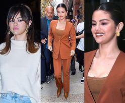 Wytworna Selena Gomez w dwóch stylizacjach promuje nową płytę w Nowym Jorku. Ikona stylu? (ZDJĘCIA)