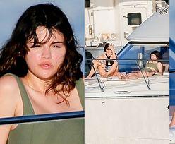 Rozłożona na luksusowym jachcie Selena Gomez ogrzewa stópki podczas hawajskich wakacji  (FOTO)