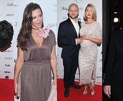 Róże Gali 2019: Na ściance Borys Szyc z ciężarną partnerką, Kinga Rusin, Joanna Horodyńska, Ewa Minge... (ZDJĘCIA)