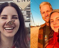 """Lana Del Rey pochwaliła się nowym zdjęciem ze starszym o 13 lat policjantem. Fani: """"Piękna para!"""""""