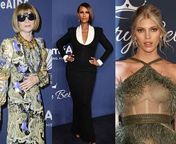 "Gala amfAR: Grająca nogą Heidi Klum, elegancka Anna Wintour, ""sobowtórka"" Anji Rubik... (ZDJĘCIA)"