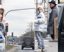 Smutna Margaret w kurtce za 1200 złotych przejeżdża na CZERWONYM ŚWIETLE! (ZDJĘCIA)