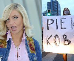 """Gorliwa chrześcijanka Maja """"Frytka"""" Frykowska wspiera protestujące kobiety: """"Każdy odpowie za swoje czyny PRZED BOGIEM"""""""