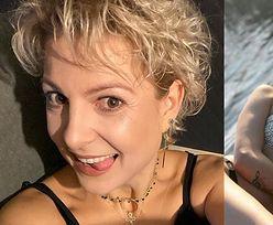 Magdalena Narożna wygina się w bikini na mazurskim pomoście (ZDJĘCIA)