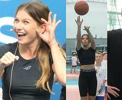Anna Lewandowska spełnia się w roli wuefistki na treningu z dziećmi (ZDJĘCIA)