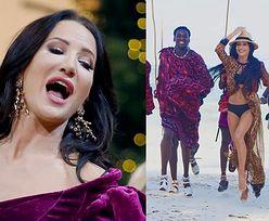 Justyna Steczkowska tańczy w majtkach na Zanzibarze (FOTO)